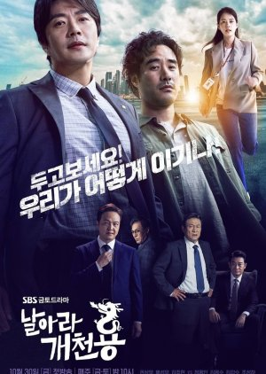 Korean Drama 날아라 개천용/ Fly Dragon / Fly from Rags to Riches / Delayed Justice