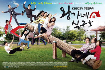 Korean Drama The Wang Family / Family of King / Royal Family