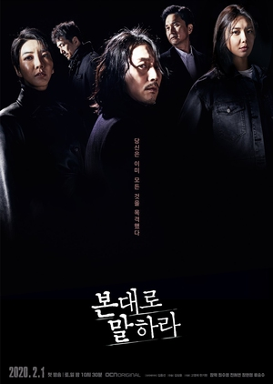 Korean Drama 본대로 말하라 / Tell Me What You Saw / Say What You Saw