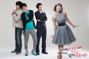 Korean Drama Three Dads One Mom / One Mom and Three Dads / Three Dads and a Mother/  아빠셋 엄마하나